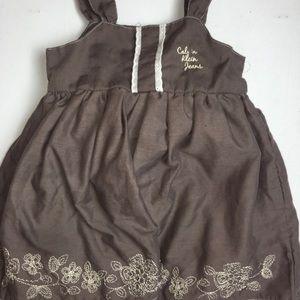 18m Calvin Klein Jeans brown Toddler dress
